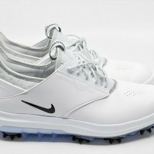 Nike Air Zoom Direct White/Silver Golf Shoes 92396